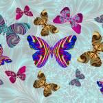 """""""Fractal Butterfly Paradise"""" by StevePurnell"""