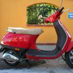 """Red Vespa"" by florian_steiner"