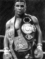 Mike Tyson Pencil Drawing