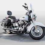 """Harley Davidson Heritage Softail"" by FatKatPhotography"