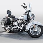 """Harley Davidson Heritage Softail"" by FatKatPhotography"