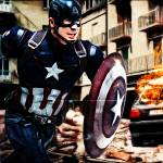 """Captain America"" by D77TheDigArtisT"
