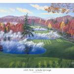 """Glade Springs 16th Hole"" by jamesniehuesmaps"