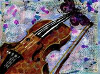 Violin Painting, Monarch Maestro