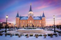 Provo City Center Temple - Winter Night