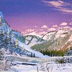 """""""Painting of Fish Lake, BC"""" by dgolden"""