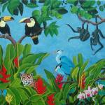 """""""HAPPY RAINFOREST V"""" by ROFFEART"""