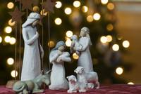 Nativity Scene Under The Tree