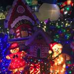 """Taylor Residence Christmas Lights Extravaganza 2"" by robertmeyerslussier"