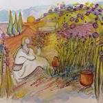 """Garden of Lavender"" by karenjlee"