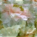 """Floral Potpourri withPeonies 26"" by LyndaLehmann"