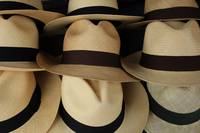 Straw Hats in Beige