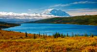 Wonder Lake and Mt McKinley