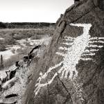"""Hummingbird Petroglyph"" by FrankZullo"