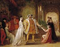 Daniel Maclise - Henry VIII's First Interview with