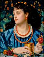 Frederick Sandys - Isolda with the Love Potion 187