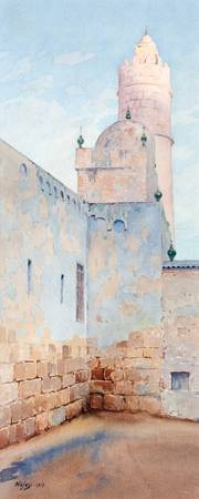 GUNNAR WIDFORSS, MOSQUE IN TUNISIA