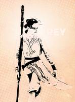 Rey - The Force Awakens - Star wars