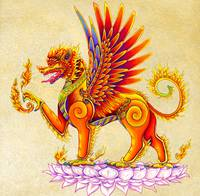 Singha Winged Lion