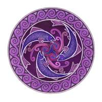 Purple Fish Spiral