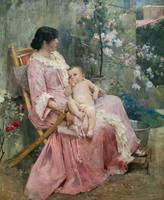 La Joven Madre (Young mother) by Arturo Michelena