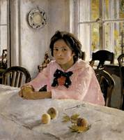 SEROV, VALENTIN ALEXANDROVICH - GIRL WITH PEACHES
