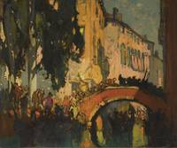Sir Frank Brangwyn, R.A. 1867-1956 THE CANAL, VENI