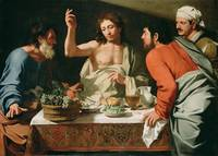 The Supper At Emmaus Attributed to Bartolomeo Cava