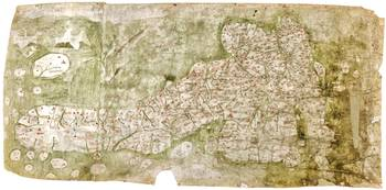 The Gough Map (1365 or 1366), the earliest extant