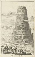 Tower of Babel Jan Luyken, Willem Goeree, 1682