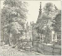 View the Kromboomsloot, Gerrit Lamberts, 1817