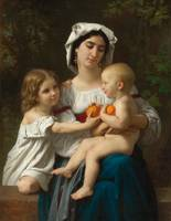 William-Adolphe Bouguereau , Les Oranges 1865