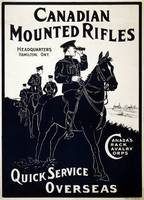 A Canadian cavalry recruitment poster from WWI
