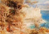Albert Goodwin - Atrani near Amalfi 1901