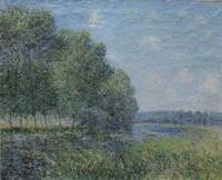 ALFRED SISLEY, RIVER VIEW