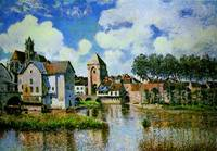 Alfred Sisley, Moret-sur-Loing