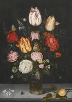 Ambrosius Bosschaert the Elder STILL LIFE OF FLOWE