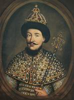 Alexis of Russia in a painting from the 1670s. He