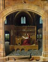 Antonello da Messina - St Jerome in his study