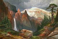 Artist Thomas Moran participated in a government s