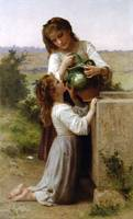 At The Fountain - William-Adolphe Bouguereau