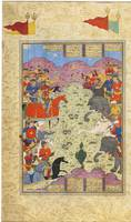 Battle of Bahram and Saveh Shah, Persia, Safavid,