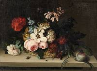 Caoline Friederike Friedrich, Flower Still Life