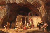 CARL WILHELM GÖTZLOFF - GERMAN, 1799-1866 FIGURES