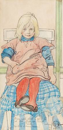 CARL LARSSON,  (A KID)