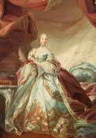 CARL GUSTAF PILO CIRCLE OF, QUEEN JULIANE MARIE OF