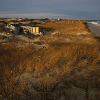 Dune Shacks of the Peaked Hill Bars Art Prints & Posters by Thomas Sweeney