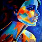 """SHADOWS AND SILENCE_ART PORTRAIT FOR SALE"" by helenkawierzbicki"