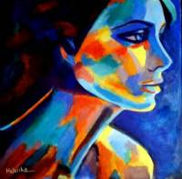 SHADOWS AND SILENCE_ART PORTRAIT FOR SALE