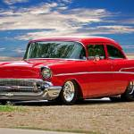 """1957 Chevrolet M.Y.O.B. Coupe"" by FatKatPhotography"